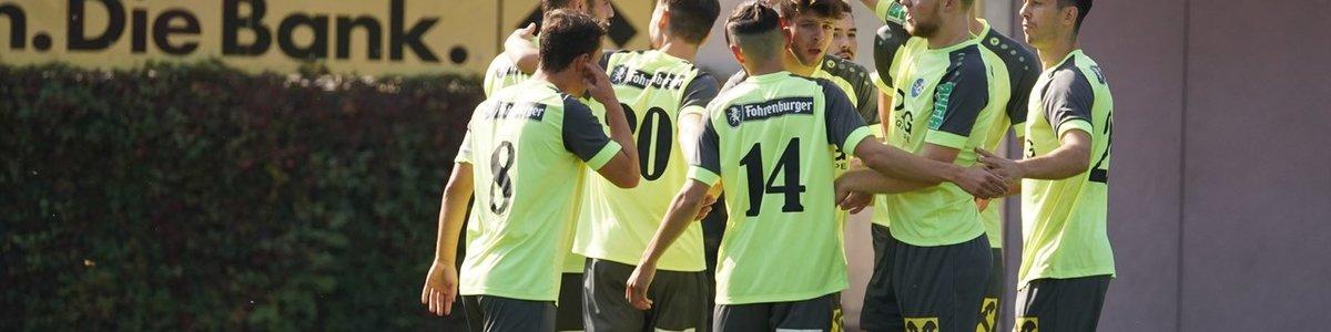 Doppelter Derbysieg gegen Feldkirch